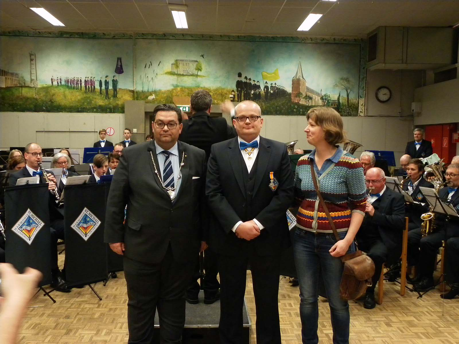 Koninklijke onderscheiding voor Roger Erkens